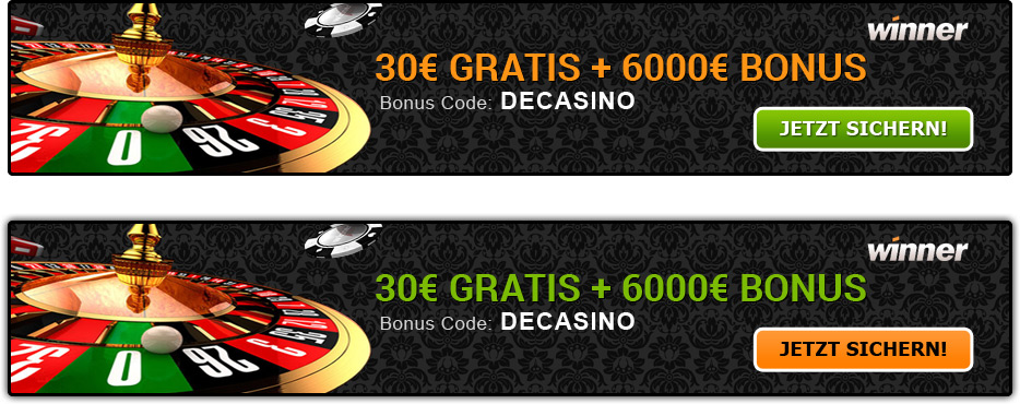 casino winner bonus code